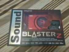 Creative Sound Blaster Z - Tarjeta de sonido interna (con micrófono)