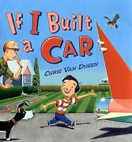 If I Built a Car by Van Dusen, Chris, Acceptable Used Book (Hardcover) FREE & FA