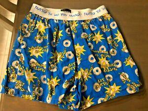 NWOT Men's JOE BOXER Frosted Cheerios Novelty Boxers Boxer Sleep Shorts  M