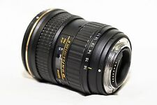 Tokina AT-X PRO 11-16mm f/2.8 DX AF MF SD IF Lens For Nikon w/ Ariel Filter