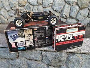 GARBO FROG 1/8 VINTAGE RC NITRO CAR RARE 2WD MANTUA