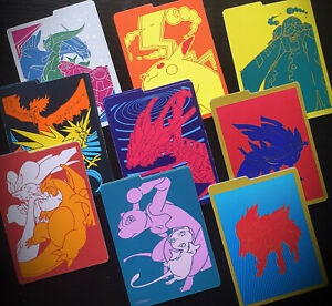2 Pokemon Dividers | TCG | Elite Trainer Box Contents | Pick Your Own