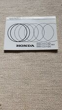 Honda GB400/500 Owners Manual