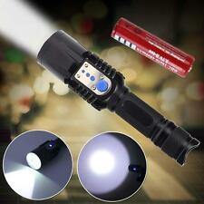 4000 Lumens USB Charge Discharging CREE T6 LED Flashlight Torch+18650 Battery BG