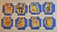 1950's NBC Bread label Disney Bambi Complete set of 12