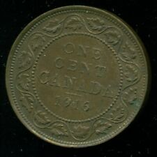 1916 Canada Large Cent King George V, Very Sharp   O130