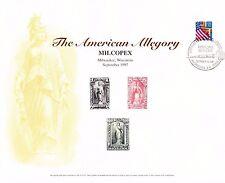 BEP Souvenir Card B222 MILCOPEX 1997 Newspaper Periodical Stamps VC Cancel