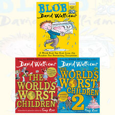 David Walliams World's Worst Children Collection 3 Books Set With Gift Journal (