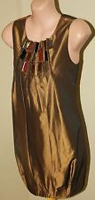 Womens Dory Bead Bronze Dress BNWT $359.95 - Rockchic Sydney - Size 6