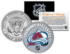 COLORADO AVALANCHE NHL Hockey JFK Kennedy Half Dollar U.S. Coin * LICENSED *