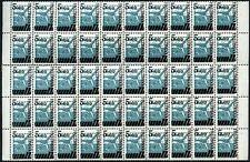 Kazakhstan 1992 SG#14, 5R On 6k MNH Block Of 50 Cat £42.50 #V6117