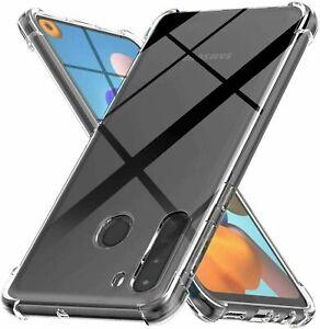 For Motorola Moto G Stylus Power 2021 OPPO Shockproof Clear Back Case TPU Cover