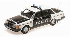 155171496 MINICHAMPS 1:18 Volvo 240 GL 1986 NORWAY Police Car model cars