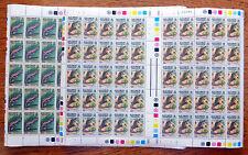 SOLOMON ISLANDS Wholesale Lizards 12c & 50c Cat £40 Sheets of 50 FP2519
