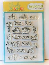 Taylored Expressions SNEAK A PEEK Stamps animals Planner Stampin Up BONUS