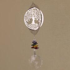 Tree of Life Suncatcher 46cm Long Sml Crystals Rainbow Gems Hippy Boho Chime