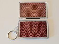 The Shining Keyring and Magnet Set. Overlook Hotel Carpet Pattern. Stephen King