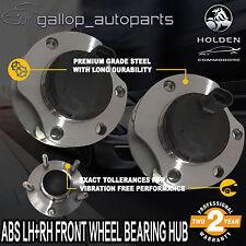 V8 LH+RH Front Wheel Bearing Hubs Holden Commodore VT 2 VY VX VU VZ V6 WH WK ABS