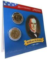 2013 P BU William McKinley Dollar With 2x2 Case From Mint Set Combined Shipping
