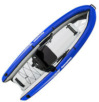 Aquaglide Rogue XP One Sit-on-Top Inflatable Diving Kayak for 1 Paddler