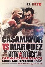 Vintage JUAN MANUEL MARQUEZ vs JOEL CASAMAYOR SPANISH Boxing Fight Poster