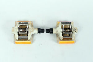 """Crank Brothers Candy C Mountain Bike Pedals Grey Eggbeater 9/16"""""""