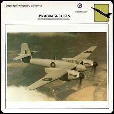 Westland Welkin - Aircraft - D1 075 21.02 - Edito Card