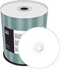 100 MediaRange CD-R 700Mb 80Min 52x Inkjet weiß Bedruckbar Spindel printable