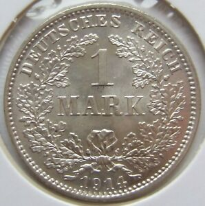 Top! 1 Mark 1914 D IN Uncirculated
