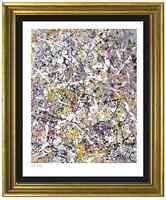 "Jackson Pollock Rare Signed/Hand-Numbered Ltd Ed ""Number 1"" Print (unframed)"