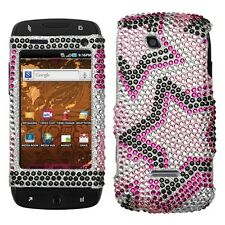 Twin Stars Bling Hard Case Cover T-Mobile Sidekick 4G