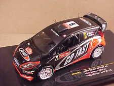 Ixo 1/43 Diecast Ford Fiesta RS WRC, 2012 Rally Monte Carlo, GO FAST, #9 #RAM492