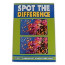 Spot The Difference Picture Photo Puzzle Book Keep Kids Busy Fun 35 Challenges