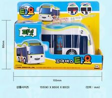 The Little Bus Tayo/PEANUT Diecast Plastic Car Toy Pull Back Electronic Tour Bus
