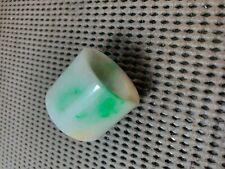 Antique Chinese Jadeite Thumb  Ring