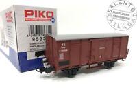 PIKO 95331 carro merci chiuso Tipo F FS preda bellica - 1/87