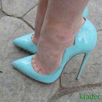 Sexy Womens Very High Stilettos Heels Slip On Clubwear Evening Pointy Toes Pumps