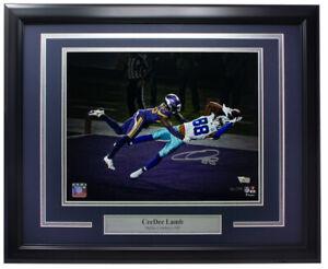 Ceedee Lamb Signed Framed Dallas Cowboys 11x14 Photo Fanatics
