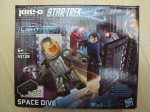 Kre-o STAR TREK SPACE DIVE 36 Pieces Ref. A3138 with Light Tech Feature NEW