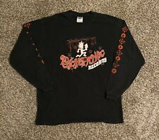 VTG Insane Clown Posse ICP Mens Graphic L/S T-Shirt XL Hatchetman Double Sided