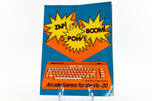 Zap! Pow! Boom! Arcade Games For The VIC-20 - Tim Hartnell & Mark Ramshaw