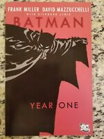 BATMAN YEAR ONE TRADE PAPERBACK (DC/FRANK MILLER/MAZZUCHELLI/0816247)
