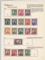slovenia 1921-22 used stamps  ref 10533