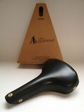 NEW IN BOX GILLES BERTHOUD SADDLE SEAT VARS BLACK MADE IN FRANCE