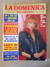 DOMENICA del CORRIERE n°8 1982 Milly carlucci Ida Di Benedetto Lady Diana [C37]