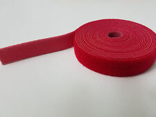 "VELCRO® Brand Reusable ONE-WRAP® Strap Double Sided 3/4"" X 12ft (4 yards) Red"