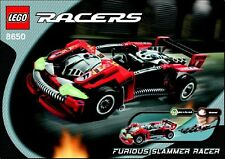 LEGO Racers 8650 - Furious Slammer Racer - NO BOX