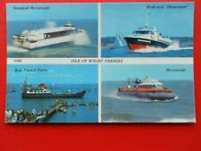 POSTCARD ISLE OF WIGHT FERRIES - MULTI VIEW