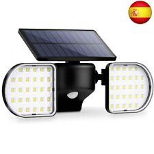 OUSFOT Luz Solar Exterior 56 LED Foco Solar con Sensor de  (Aplique 56 Leds)