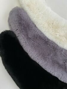 New Women  Shawl Scarves Wrap Scarf Stole  Soft Faux fox fur Collar Cover Up